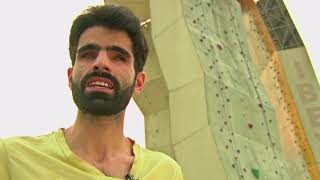 Heights Hold No Fear for Blind Pakistani Rock Climber - VOAVIDEO