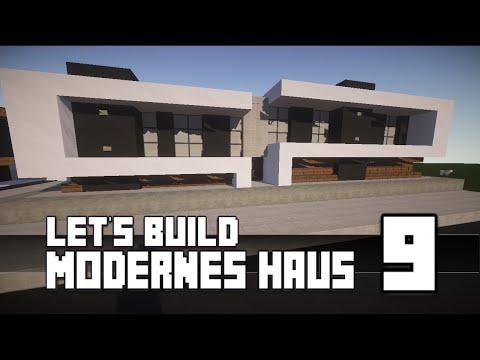 Minecraft :: Modernes Haus Bauen :: German/Deutsch #9 [Teil 1]