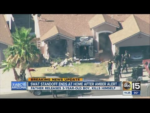 Swat standoff ends at home after amber alert