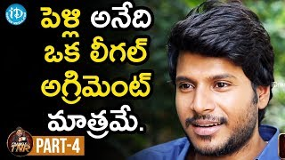 Actor Sundeep Kishan Exclusive Interview Part #5 | Frankly With TNR | Talking Movies With iDream - IDREAMMOVIES