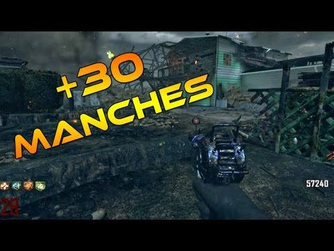 [+30 MANCHES] Nuketown Zombies Gameplay + Tutorial Easter egg song | Black ops 2