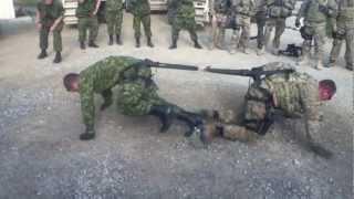 بالفيديو.. الجيش الكندي والأمريكي في لعبة