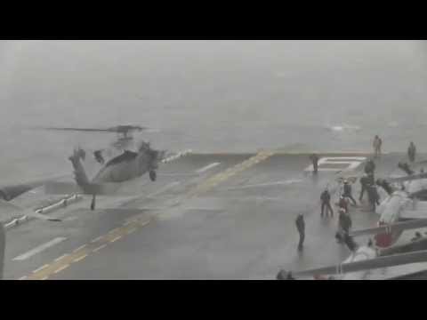 USS Bonhomme Richard (LHD 6) searches for victims of sunken Korean ferry
