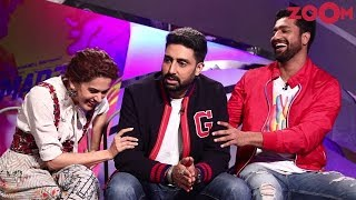 Manmarziyaan Interview & Review | Taapsee Pannu, Abhishek Bachchan, Vicky Kaushal | Exclusive - ZOOMDEKHO