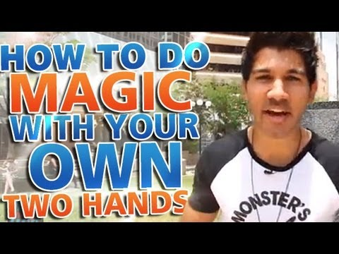 Awesome Magic Trick: How To Do Magic With Your Own Two Hands!