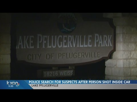 Police seek 2 suspects in Lake Pflugerville shooting