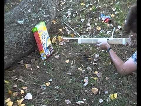 escopeta casera dispara bayas