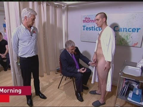 TV NEWS: Testicle exam on This Morning