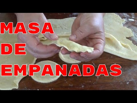 Masa para Empanadas Perfecta - The Frugal Chef