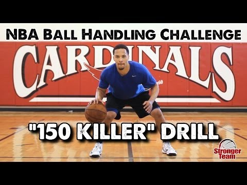 NBA Ball Handling Drill - The Killer 150 (Can You Beat the Pro?)