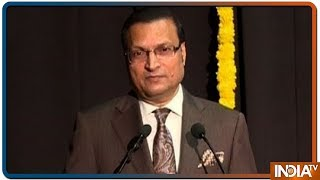 KC College, Mumbai felicitates India TV Chairman Rajat Sharma at their lecture series - INDIATV