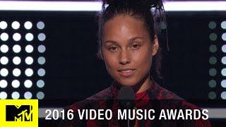 Alicia Keys Emotional Speech   2016 Video Music Awards   MTV - MTV