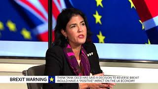 Talking a new inflation high and Brexit warnings from the OECD - SKYNEWS