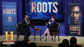 Roots: LeVar Burton & Valerie Jarrett at the White House | History - HISTORYCHANNEL