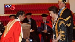 Indian Doctor Got Honorary Doctorate From HRH Princess Anne | Buckingham Palace | London TV5 News - TV5NEWSCHANNEL