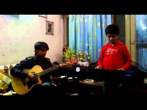 2  Kal Ho Na Ho Song on keyboard Played by Shauryy Srivastava