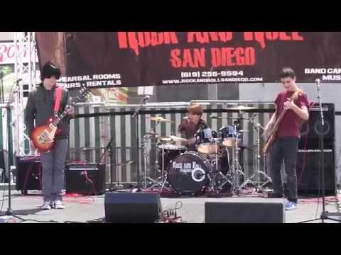 YYZ performed by Tristan Brooks, Jackson Shaffer, Nick Kinzel