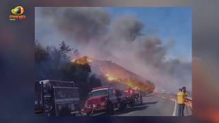 Fire Fighters Struggles To Control Southern California Wildfires | Mango News - MANGONEWS