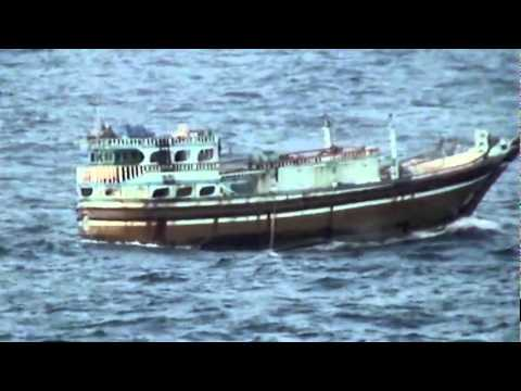 Dutch boarding team ambushed by Somali pirates, firefight ensues