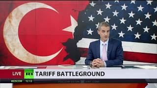 US-Turkey get deeper into tariff spat over American pastor detention - RUSSIATODAY