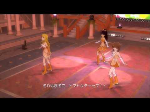 The iDOLM@STER 2: Ai Like Hamburger ( Hibiki, Yukiho, Miki )