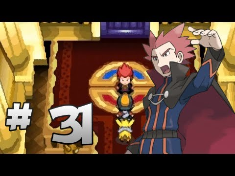 Let's Play Pokemon: HeartGold - Part 31 - Champion Lance