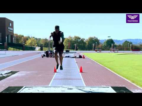 HOW TO TRIPLE JUMP - HOP PHASE FOR PRESCRIBED DISTANCE