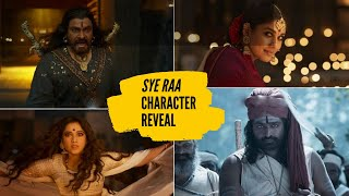 SYE RAA NARSIMHA REDDY  | Character Reveal | Teluguone| Chiranjeevi | Amitabh Bachchan - TELUGUONE