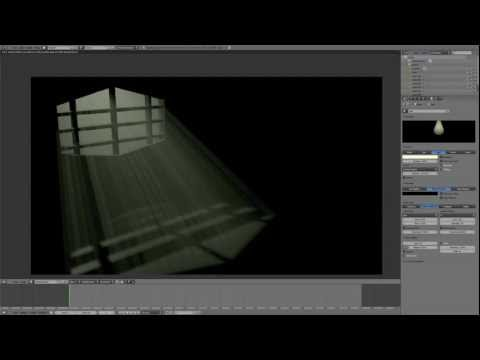 Easy Volumetric Lighting Tutorial - Blender 2.6+