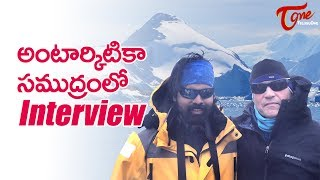 Interview with Robert Swan by Raghunandan Vadla | The First Man In History To Walk To Both Poles - TELUGUONE