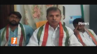 Congress Leader Tulasi Reddy Fires On AP Govt Over Cement Prices Hikes | iNews - INEWS