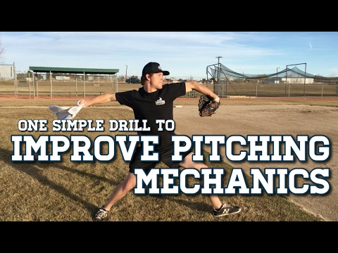 Improve Baseball Pitching Mechanics With This ONE Drill!
