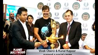 Vivek Oberoi and Kunal Kapoor support a social cause! | Bollywood News