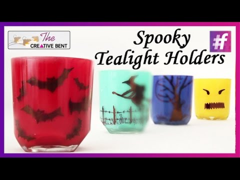 Spooky Tealight Holders | Halloween Special Home Decor