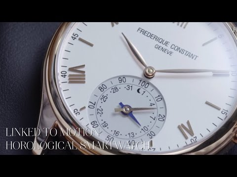 Frederique Constant Linked to Motion - Horological Smartwatch