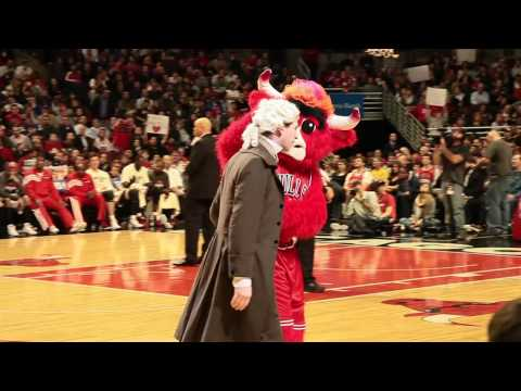 John Adams Goes to the Chicago Bulls Game