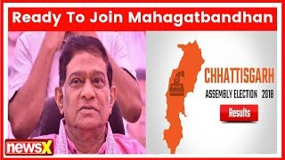 Ajit Jogi says 'Gathbandhan' the need of hour, ready to join alliance to defeat BJP - NEWSXLIVE