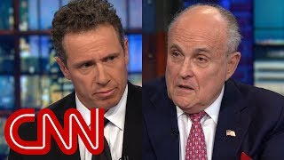 Chris Cuomo presses Rudy Giuliani on pardons comment - CNN