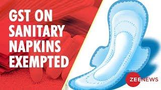 Sanitary Napkins Now Exempt From GST - ZEENEWS