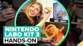 Nintendo Labo Vehicle Kit: What it's like to play - CNETTV