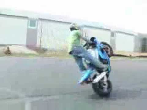 Video moto stunt