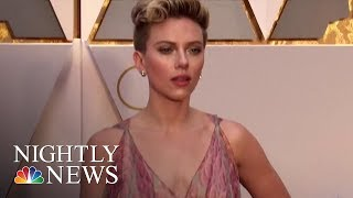 Scarlett Johansson Says She Will Not Play Transgender Man After Backlash | NBC Nightly News - NBCNEWS