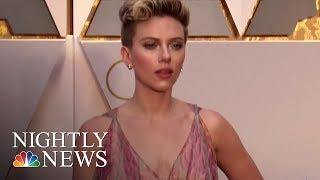 Scarlett Johansson Says She Will Not Play Transgender Man After Backlash | NBC Nightly News - NBCNEWS