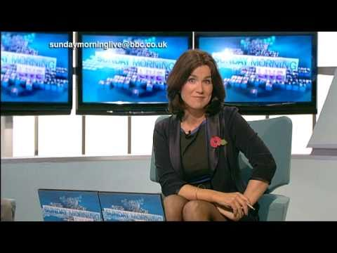 Susanna Reid Leggy In Black Pantyhose