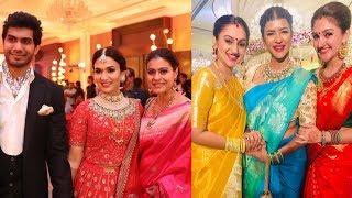 Celebrities At Soundarya Rajinikanth Wedding Photos | Mohan Babu | Rajasekhar | Rajinikanth | Meena - RAJSHRITELUGU