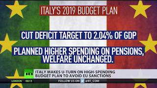 U-turn: Italy changes high-spending budget plan to avoid EU sanctions - RUSSIATODAY
