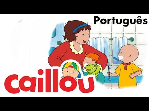 CAILLOU PORTUGUÊS - Uma brincadeira para todos (S03E12)
