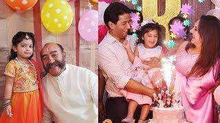 Actress Sridevi Vijaykumar Daughter Rupikaa 2nd Birthday Celebration Photos - RAJSHRITELUGU
