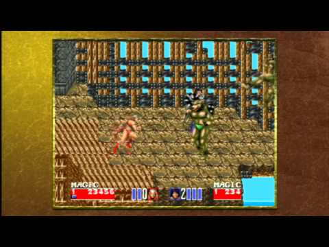 Classic Game Room - GOLDEN AXE 2 Sega Genesis / PS3 review