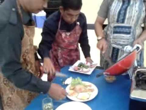 Lomba masak Nasgor Pusdik Gasum